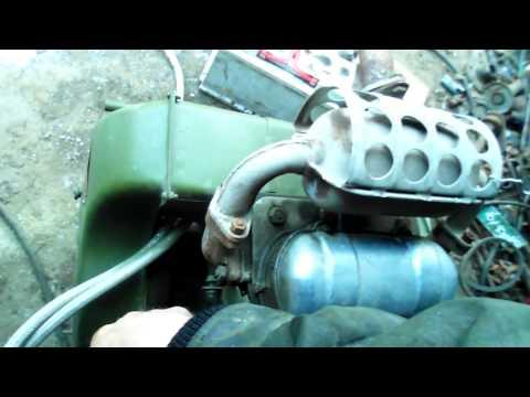 УД-25-холостой ход. Расход с карбюр к-16м.UD-25-Leerlauf.