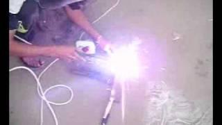 getlinkyoutube.com-Aparat de sudura HomeMade,Building Homemade simple welding Machine