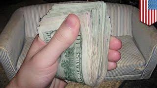 Pelajar menemukan uang 500 juta di sofa, lalu mengembalikannya - Tomonews