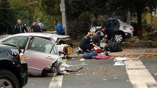 getlinkyoutube.com-Car Crash Compilation On Road 2013