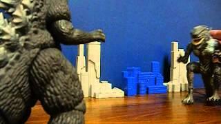 getlinkyoutube.com-Godzilla vs. Zilla (Final Wars): Toy Footage