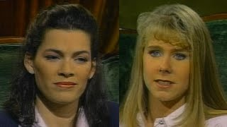 When Nancy Kerrigan and Tonya Harding Squared Off, Years After Infamous Attack width=