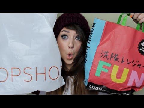 Collective Haul : Topshop, Lush, H&M, FeelUnique & AA   Zoella