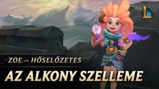 League of Legends - Hőselőzetes: Zoe, az Alkony szelleme