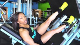 getlinkyoutube.com-IFBB Pro Morgan Canty demonstrates the single-leg leg press