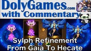 getlinkyoutube.com-➜ Wartune Sylph Refinement | 2nd Dark Evolution - Gaia to Hecate