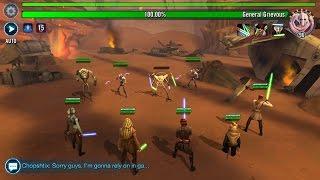 getlinkyoutube.com-AAT Tank Takedown Raid Heroic First Look | Star Wars: Galaxy of Heroes #SWGOH