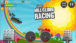getlinkyoutube.com-Hill Climb Racing: Super Off-Road 8978m on Rainbow