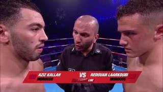 Enfusion Live #38 The Hague, The Netherlands, 02.04.2016 Redouan Laarkoubi Vs Aziz Kallah