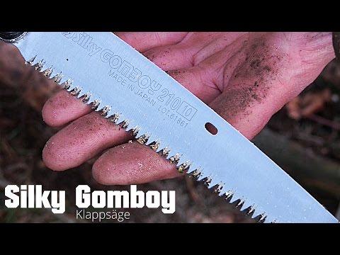 Silky Gomboy 210 - Klappsäge (Review) + Kienspan / Fatwood gefunden! | Outdoor Ausrüstung TV