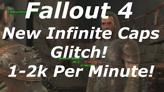 getlinkyoutube.com-Fallout 4 New Infinite Caps Glitch / Exploit AFTER PATCH 1.2! Unlimited Caps! (Fallout 4 Glitches)