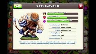 "getlinkyoutube.com-Clash of Clans - The Troop ""Yeti"""