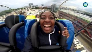 """getlinkyoutube.com-""""No risk no fun!"""" - Marika testet die drei neuen Dom-Attraktionen"""