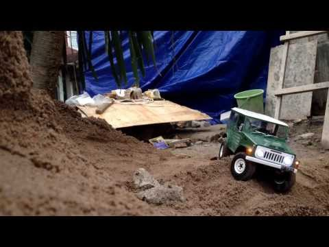 RC Jimny jangkrik first trail