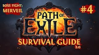 getlinkyoutube.com-The PATH of EXILE SURVIVAL GUIDE 2.0 - MERVEIL Act 1 Final Boss Fight - Chapter 4