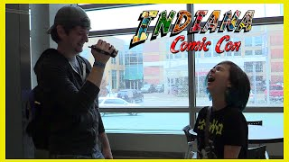 getlinkyoutube.com-Indiana Comic Con - Chad Alan, Fans, Anime, Cosplay and Jenna Coleman