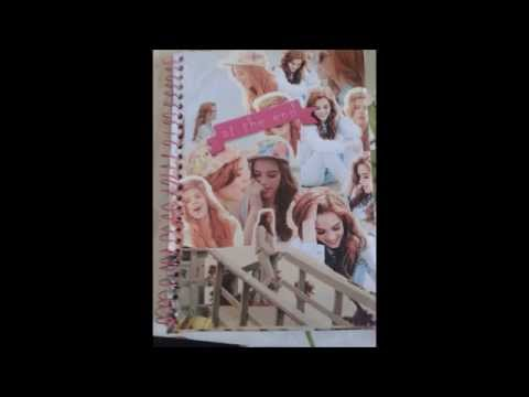 Faça você TIRULIPA(O) - DIY caderno personalizado