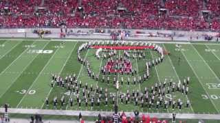 getlinkyoutube.com-Ohio State Marching Band Hollywood  Blockbusters Halftime Show 10 26 2013 OSU vs Penn State