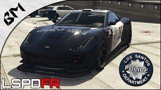 getlinkyoutube.com-GTA 5 - LSPDFR - Spécial grande vitesse (Hot Pursuit) - Patrouille 03