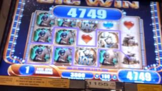 Wms Laredo mega big win bonus rd
