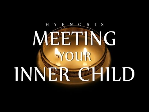 Hypnosis for Meeting Your Inner Child Self (Meditation Relaxation Candle  | Voice ASMR | Healing)