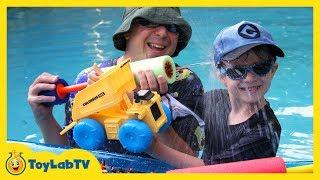 Disney Cars Hydro Wheels Colossus XXL Dump Truck Water Toy & Planes Fire & Rescue Bath Toys