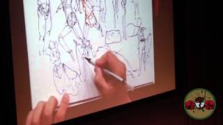 getlinkyoutube.com-Kim Jung Gi - Thinking Through Drawing (Lecture bits)