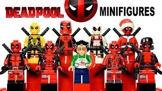 getlinkyoutube.com-Awesome LEGO Deadpool™ Minifigure Marvel Super Heroes Collection