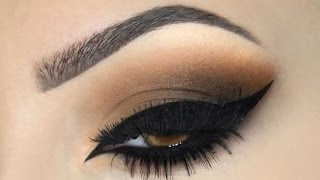getlinkyoutube.com-♡ BROWN SMOKEY EYE ♡ Make Up Tutorial ♡