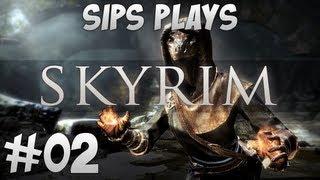 getlinkyoutube.com-Sips Plays Skyrim - Part 2 - Straight Outta Riverwood