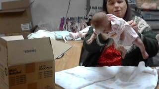 Box Packing for Januaryfree reborn  Baby