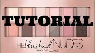 getlinkyoutube.com-Tutorial | Maybelline Blushed Nudes