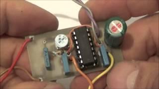 Detector de metales casero.