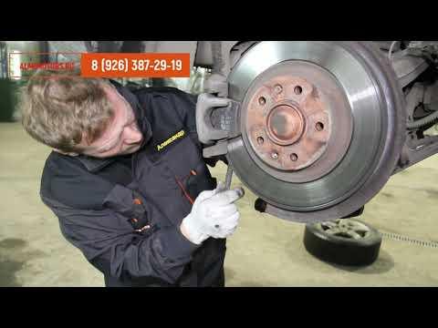 Peugeot 407   замена задних тормозных дисков с профилактикой тормозных механизмов