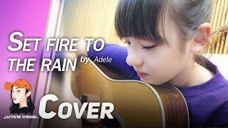 getlinkyoutube.com-Set Fire to The Rain - Adele cover by 12 y/o Jannine Weigel