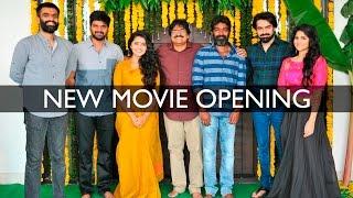 Ram and Anupama Parameshwaran - New Movie Opening Event || Sravanthi Movies