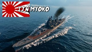 getlinkyoutube.com-World of Warships - Myoko Class Cruiser