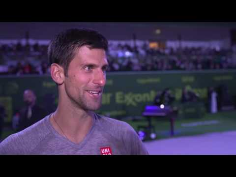 Djokovic Discusses Beating Murray For Doha Title