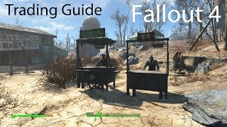 getlinkyoutube.com-Fallout 4: Settlement Trading Guide (Routes/Assigning Settlers)