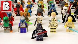 getlinkyoutube.com-Every Lego Star Wars Minifigure Ever Made!!! 800+ Minifigs