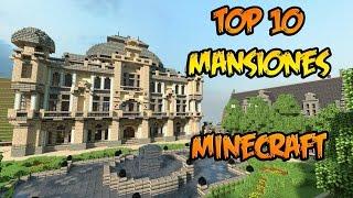 TOP 10 MANSIONES MINECRAFT - ¡LAS MÁS INCREÍBLES! - 2016
