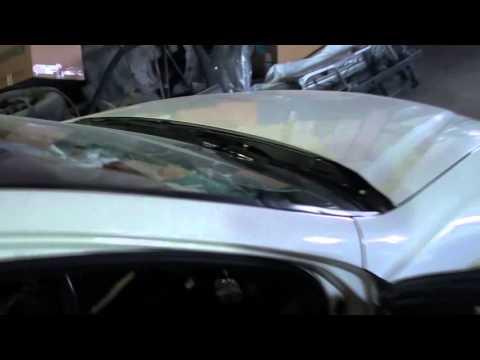 Honda Accord крыша часть 1