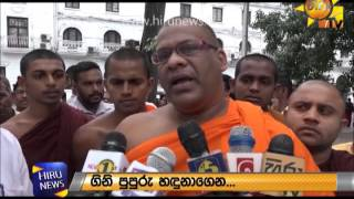Galagodaaththe Gnanasara thero at Kandy