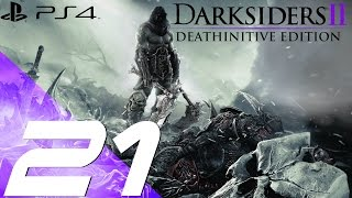 Darksiders II Deathinitive Edition PS4 - Walkthrough Part 21 - The Earth [1080p 60fps]
