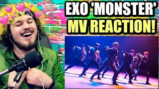 EXO 엑소 'Monster' MV | THE DANCING HAS ME SHOOK! | REACTION!!