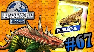 getlinkyoutube.com-Antarctopelta Tournament!!! | Jurassic World - The Game | #67