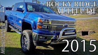 getlinkyoutube.com-Rocky Ridge Altitude Edition Z71 CHEVROLET SILVERADO 1500 CREW CAB  LT W/1LT 13225