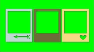 getlinkyoutube.com-Polaroid Border Green Screen Pack