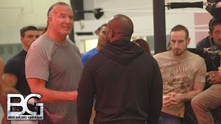 getlinkyoutube.com-WWE Network: Razor Ramon offers some strong advice to Apollo Crews: Breaking Ground, Dec. 21, 2015