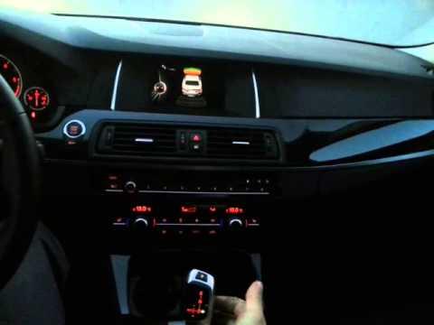 BMW 520d рычаг акпп